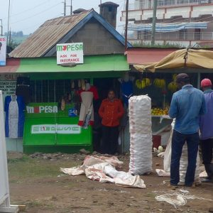 Point M-Pesa au Kenya