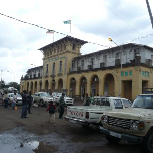 The central railway station in Ethiopia's capital Addis Ababa.