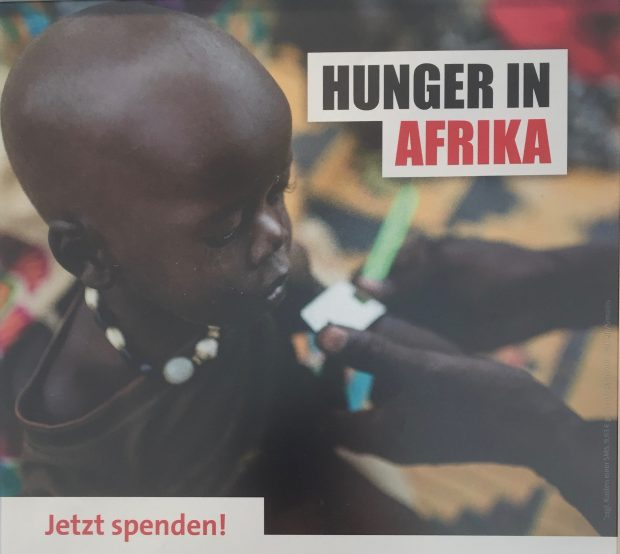 Spendenaufruf gegen Hunger in Afrika
