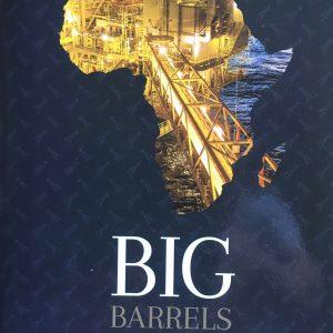 """Book cover """"Big Barrels"""""""
