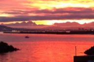 Solare Kraft: Sonnenaufgang über Kapstadt