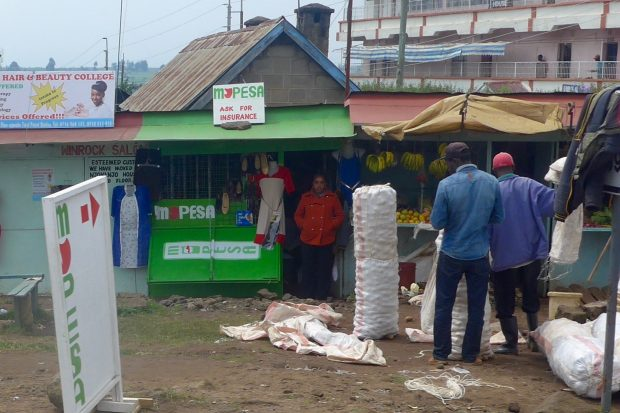 Point M-Pesa au Kenya
