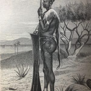 Lithographie Afrikaner