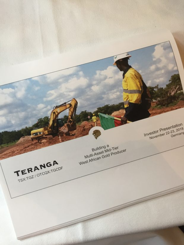 Teranga is investing in West African mining.