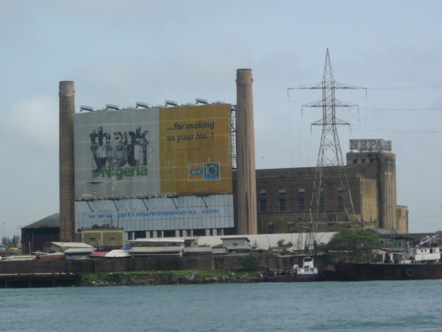 Sea port of Lagos. (c) Christian Hiller von Gaertringen