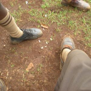 Schuhe Afrika