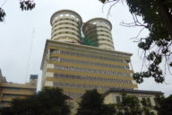 Office building in Nairobi: International investors are less interested in Africa.