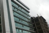 It is important to investors to know how to deal with risks in Africa: Office building in Addis Ababa, Ethiopia.